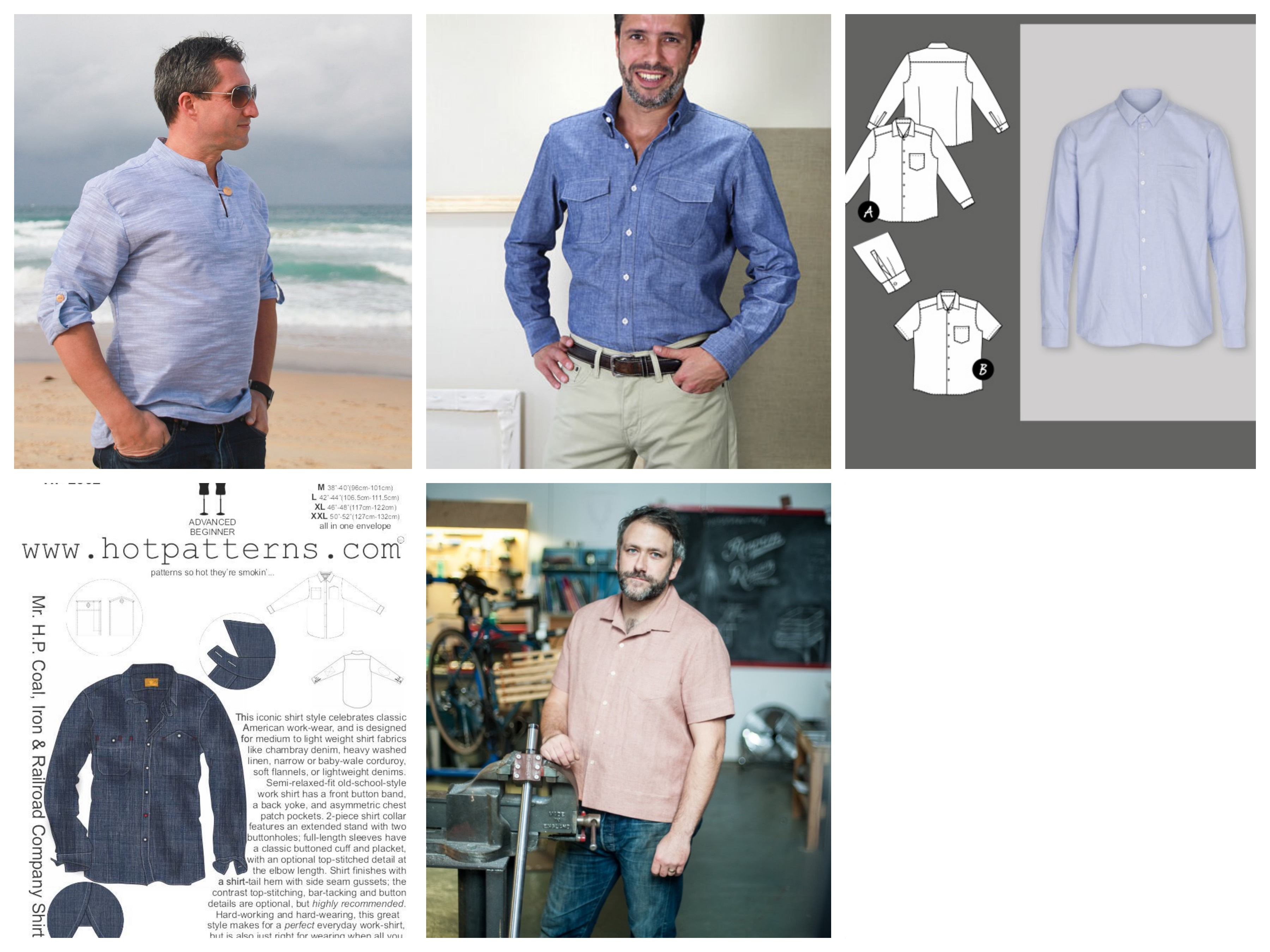 eba646f572f ManSewing – Mens Shirt Patterns Round Up | Stitch Sisters